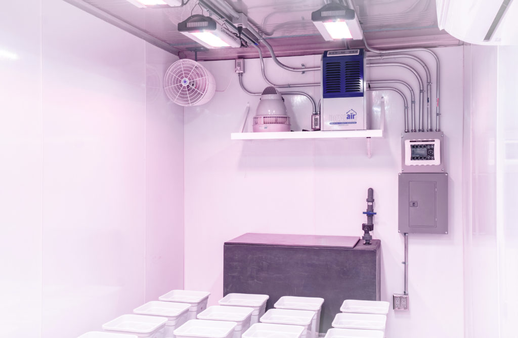 Indoor Farms LED and HVAC System